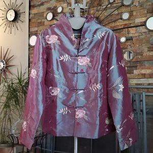 Jackets & Blazers - Beautiful iridescent chinese jacket